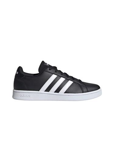 adidas Adidas Kadın Tenis Günlük Ayakkabı Ee7482 Grand Court Base Siyah